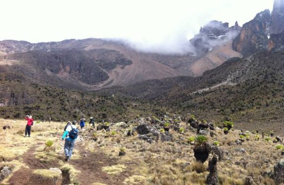 7 Days Mt. Kenya Climbing: Sirimon To Chogoria Route