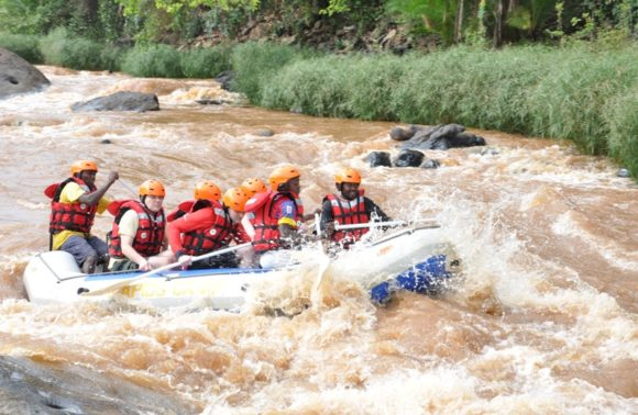 Sagana Water Rafting & Kayaking | Day Trip