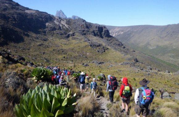 4 Days Mount Kenya Climbing Sirimon Route